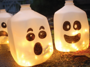 Ghostly Lanterns